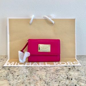 Authentic leather Michael kors card wallet